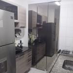 Porta Para Cozinha Lavanderia Espelhada