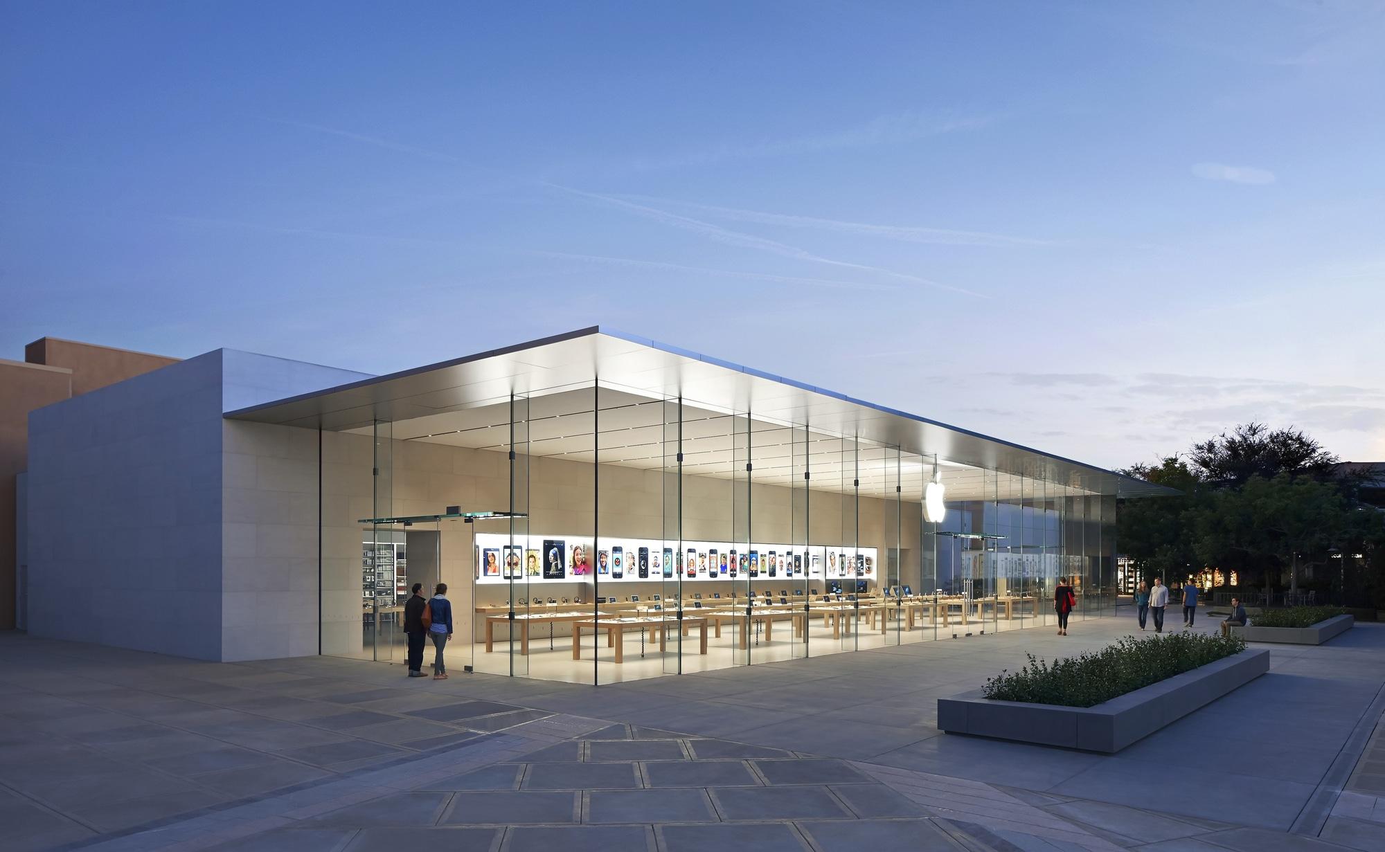 vidro-fachada-apple