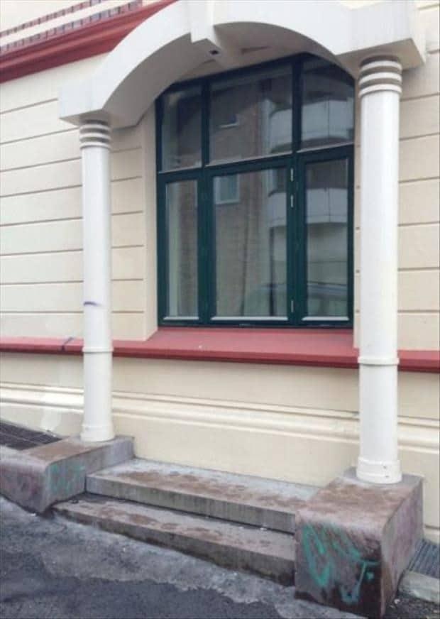 porta ou uma janela