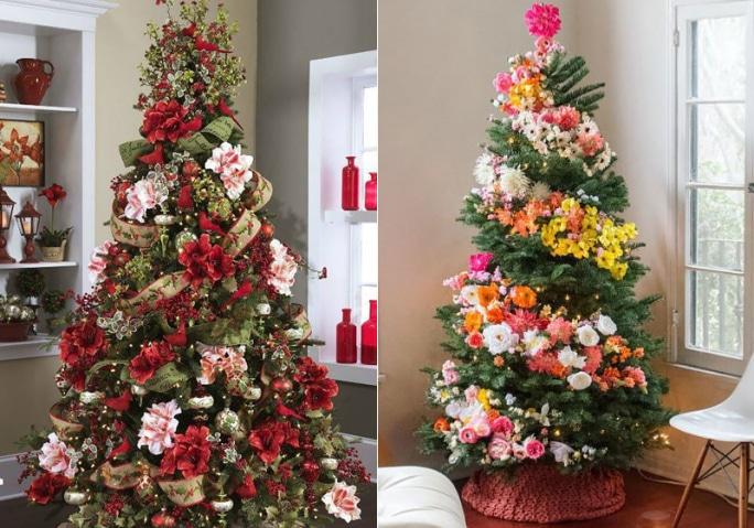 arvore-de-natal-com-flores