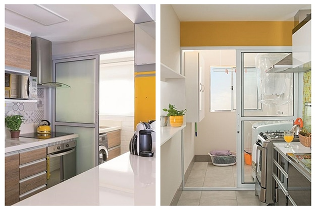 Porta de vidro para a lavanderia: qual escolher?